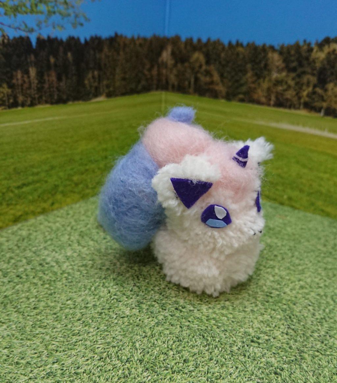ハンドメイド 毛糸 羊毛 手作り ガラルポニータ