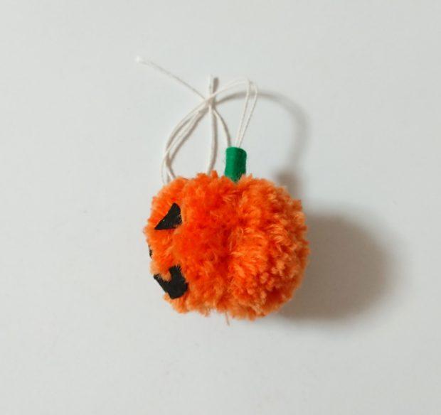 かぼちゃぽんぽん 左側面 完成