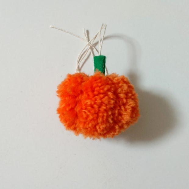 かぼちゃぽんぽん 後面 完成