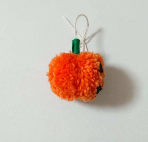 かぼちゃぽんぽん 右側面 完成