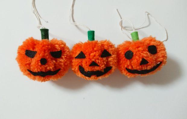 かぼちゃぽんぽん 3個