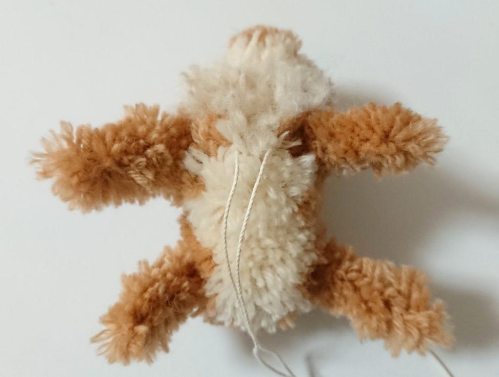 トナカイぽんぽん 頭と体の連結②