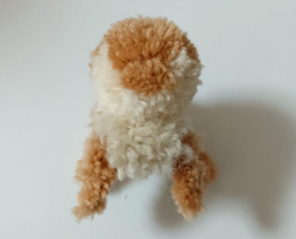 トナカイぽんぽん 頭と体の連結正面