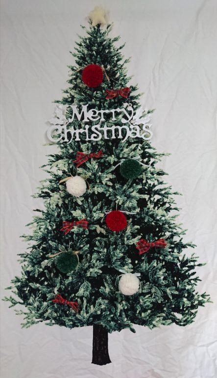 クリスマスツリー 飾りつけ(2020年クリスマス)